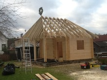 Log House manufacture