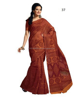Shopping Printed Cotton Sarees Online In Kolkata