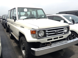 LESS MILEAGE USED CARS FOR SALE DIESEL IN JAPAN FOR TOYOTA LAND CRUISER 70 LX HZJ76V
