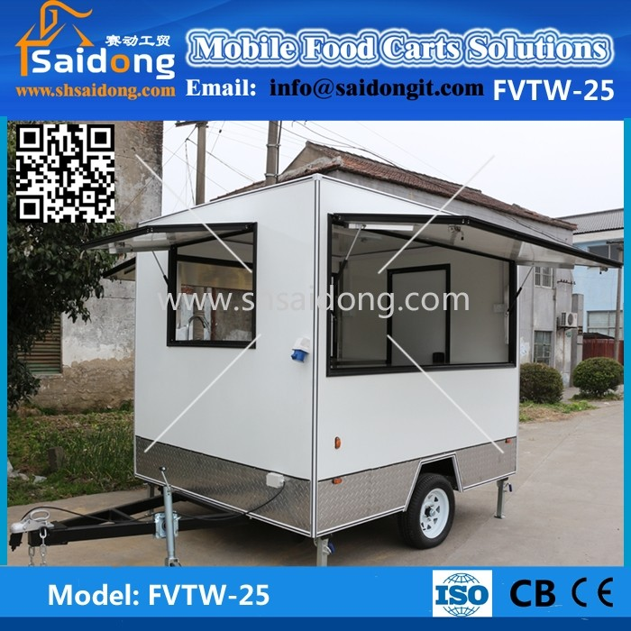 Manufacturer Street Mobile Kitchen Van-food Truck Drink Vending Cart ...