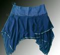 seqüência de saia de algodão ou bambu
