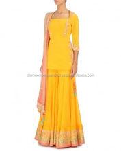 Designer simple wear Sharara 2015
