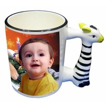 11oz souvenir Sublimation drinkable animal shaped mugs