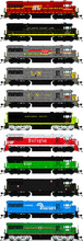 Toy Trains, Scale Model Trains