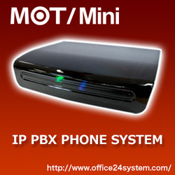 IP PBX Voip SIP phone MOT/Mini, 6units 2calls FAX Function. Small machines for business.
