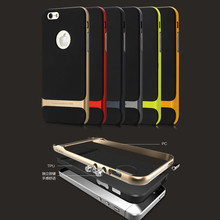 6 Colors - OEM Rock Royce Retail Packaging Hybrid 2 Layer Case Cover for iPhone 6 USA, Los Angeles Wholesale