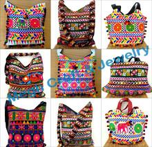 Indian wholesale banjara handbags- Ethnic vintage kutch hand work handbags-Embroidery Suzani Handbag-Wholesale Boho Shoulder Bag