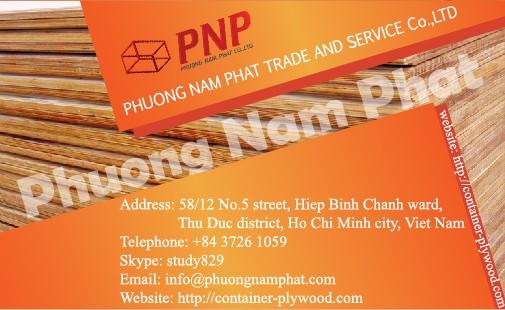 company information Card