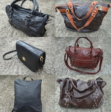 MIXED USED BAGS (MIXED WITH COTTON BAG)