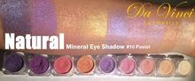 Pastel paleta de sombra de ojos - Da Vinci cosméticos - cosméticos naturales