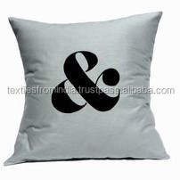 2015 latest cotton 100% cotton material cushion cover