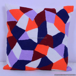 Indian Handmade Suzani EMBROIDERED PILLOW COVERS Decorative Cushion, Pillow Cover-Outdoor Cushion cover Ethnic Pillow Art