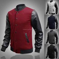 custom made varsity Jacket Varsity Baseball S Letterman S bubble jacket