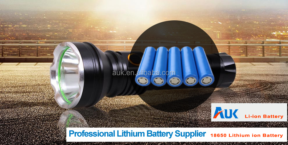 Оптовая Литий-Ионная Батарея 18650 3.7 В 2000 мАч Аккумуляторная AUK Аккумулятор Для Электрические Игрушки