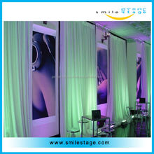 pipe and drapes for wedding decoration/big event/shows