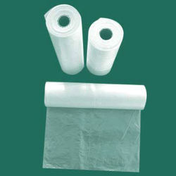 HDPE plastic bags on roll/plastic bags