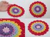 Beautiful handmade crochet potholder kitchen accessories