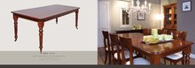 Solid wooden antique folded indoor dinning table Cherry material Coin table
