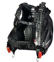 Mares Dragon BCD with MRS Plus Weight Pockets, Black