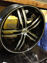 Auto Couture Transform 5 Wheels 21x9 and 21x10.5 +18 5x120
