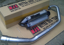 CUSTOM RACING R9 VALENCIA STYLE MUFFLER SLIP ON SILENCER