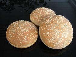 Hamburger bun with sesame