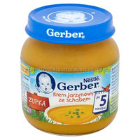 Vegetable Cream Soup with Joint of Pork! GERBER 125g