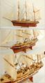 Belem( descuento especial!!) modelo de madera de los buques de altura