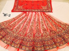 Designer Bridal Anarkali Lehenga for sale