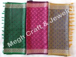 Girls Fashion Wear Shawl/Stole/Scarf-Silk Printed Reversible Shawl-Winter Wear Shawl-Stole
