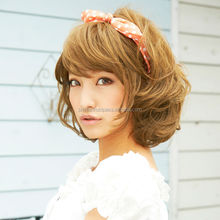 High quality japanese cosplayers Wig for daily use , small lot order available