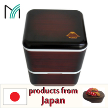 modern or traditional and popular best trust export import bento box with conserving properties made in Japan