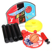 Portable Basketball Toy Set with Stand, Ball and Pump Kids Toddler Baby Sports
