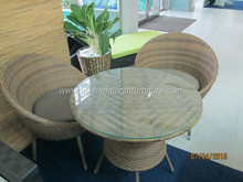 AD Furniture Corp - wicker coffee set at Vifa fair year 2015 in Viet Nam
