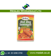 Grace Halal Spicy Hotdogs - Canned Food