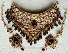 Collar de la joyería nupcial fija la oferta de exportaciones