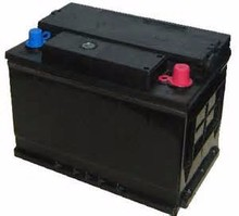 high quality dry charged car battery N120