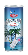 Natural Coconut Water Low Calories