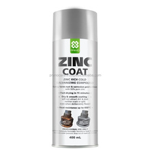 Zinc Cold Galvanize Spray Paint Grey PRIMO ZINC COAT 400 mL