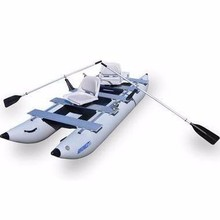 Sea Eagle Boats 375FCK_D FoldCats Deluxe 2-Person Inflatable Pontoon B