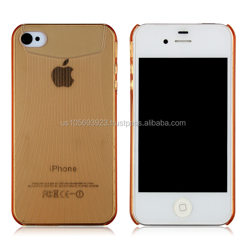 Ultra Slim Hard PC Case For Iphone 4 4s With 6 Colors , Stocks now