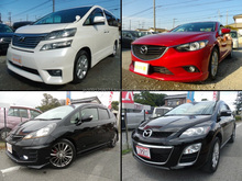 Durable good-maintenance export used car in good condition