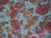 Digital printed & floral design pattern & multi-colored georgette dancing & party wear fabric
