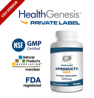 Private Label Hyaluronic Acid 50 mg Plus MSM 60 Veg Capsules from NSF GMP USA Vendor