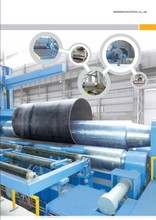 Plate Roll Bending Machine