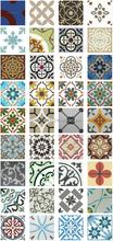 Cement tile patchwork
