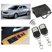 Universal 360 Degree Rotation Car Auto Kit Remote Central Alarm Security 4 Door Bracket Lock Locking Power Keyless Entry System