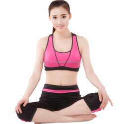 Women's Padded Wire Free Cool-look Yoga Sports Bra