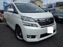 Toyota vellfire 2.4X ANH25W 2012 Used Car