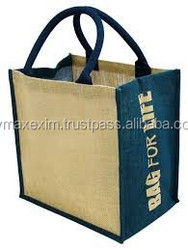 Foldable Non Woven Jute Shopping Bag for Promotion